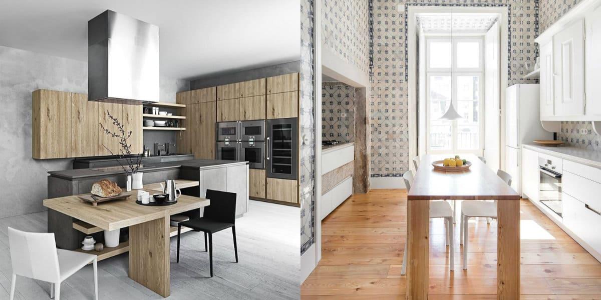 Кухня в стиле минимализм: простая мебель