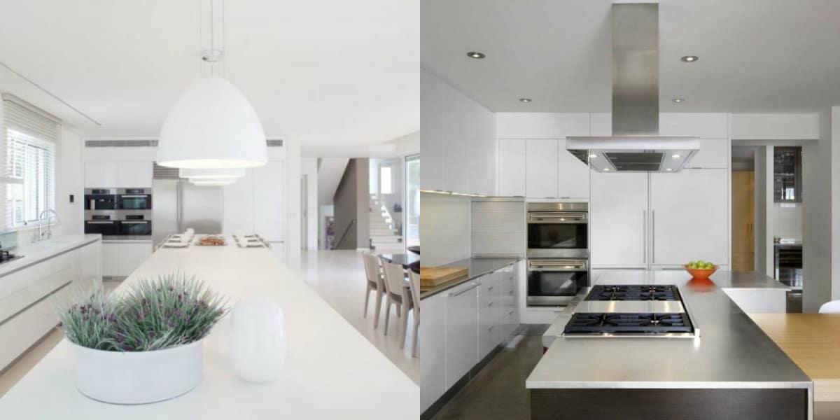 Кухня в стиле минимализм: оформление рабочих поверхностей