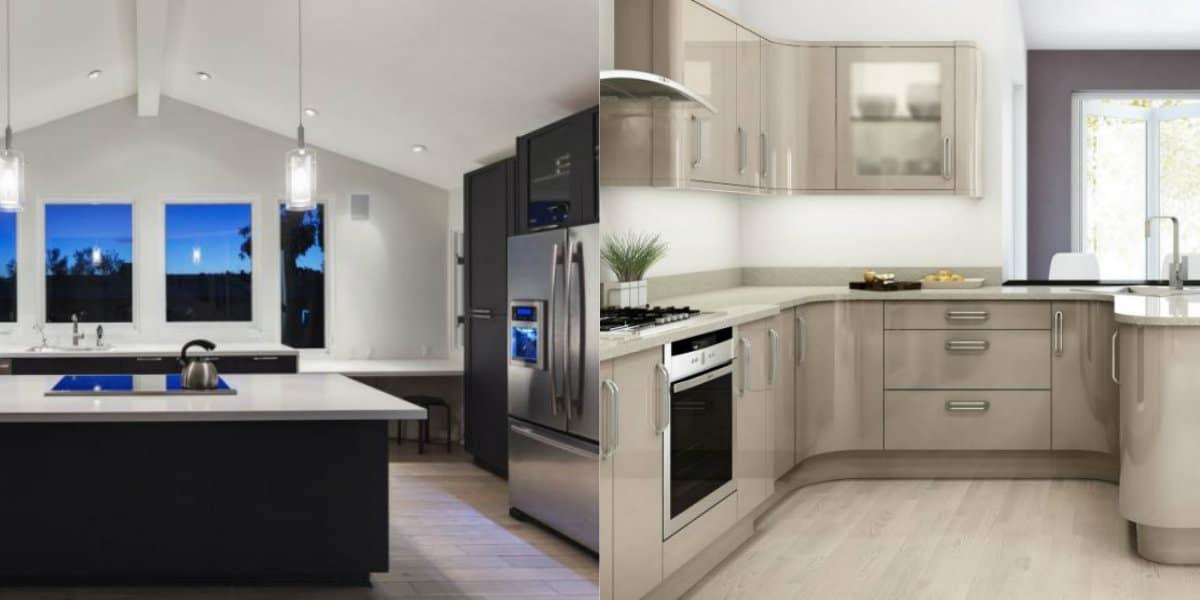 Кухня в стиле минимализм: простые формы и линии