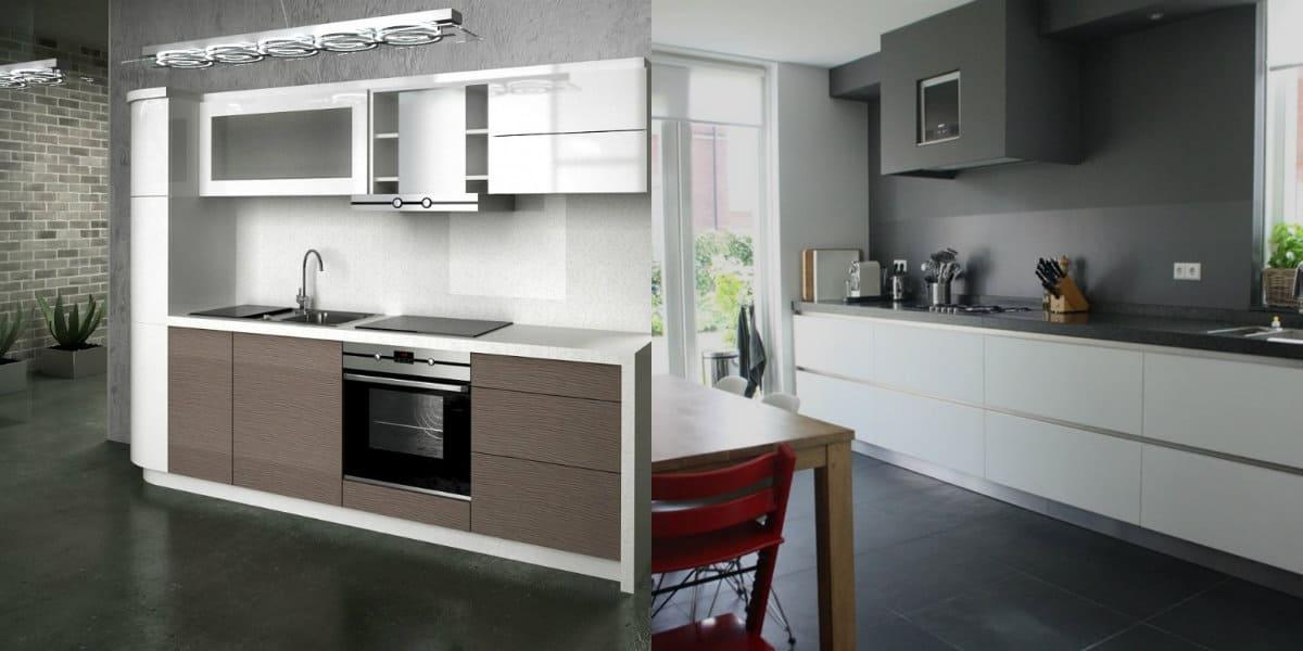 Кухня в стиле Хай тек: полы