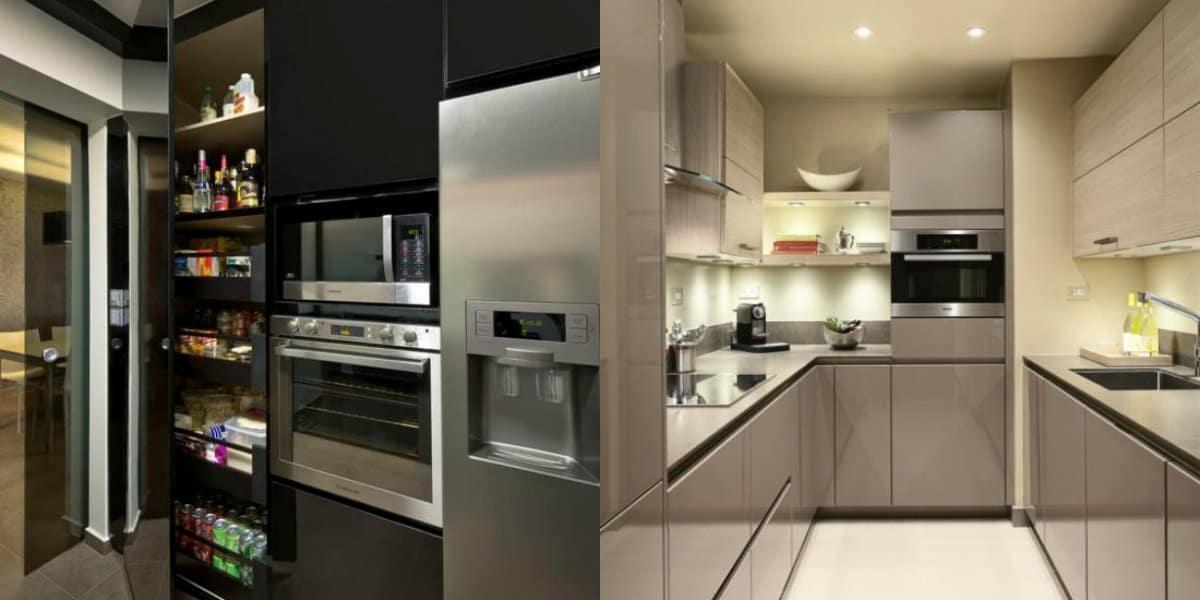 Кухня в стиле Хай тек: характерные черты