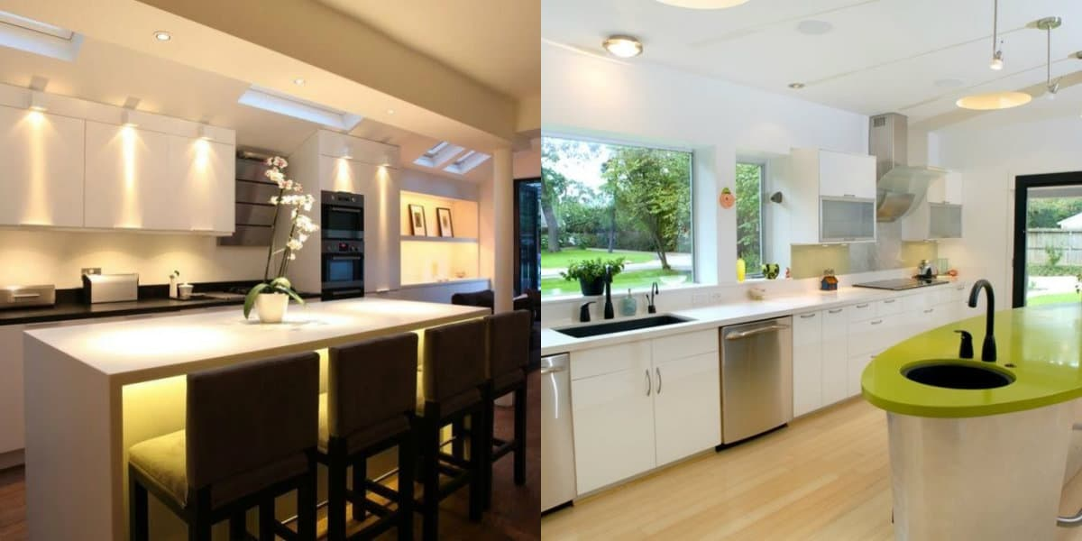 Кухня в стиле Хай тек: цветовые решения