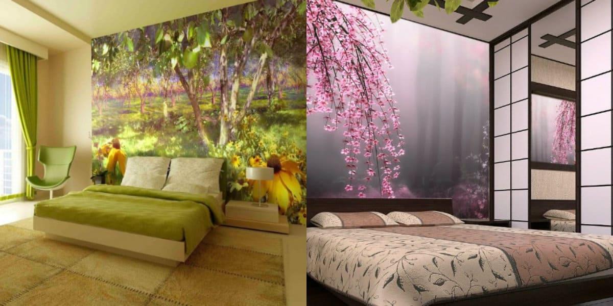 спальня в современном стиле: декор