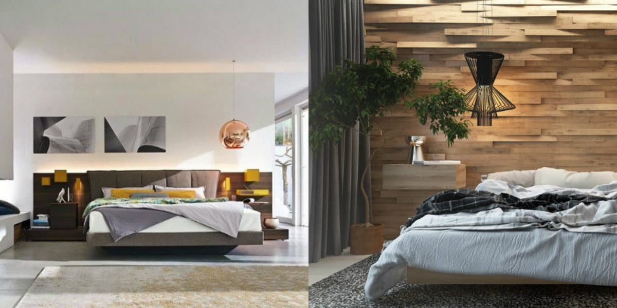 спальня в современном стиле: стильные решения