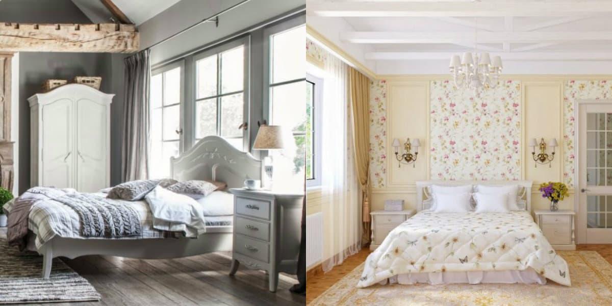 Спальня в стиле Прованс : классический вариант