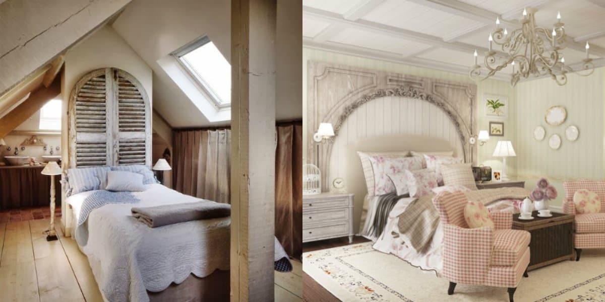 Спальня в стиле Прованс : винтажный дизайн