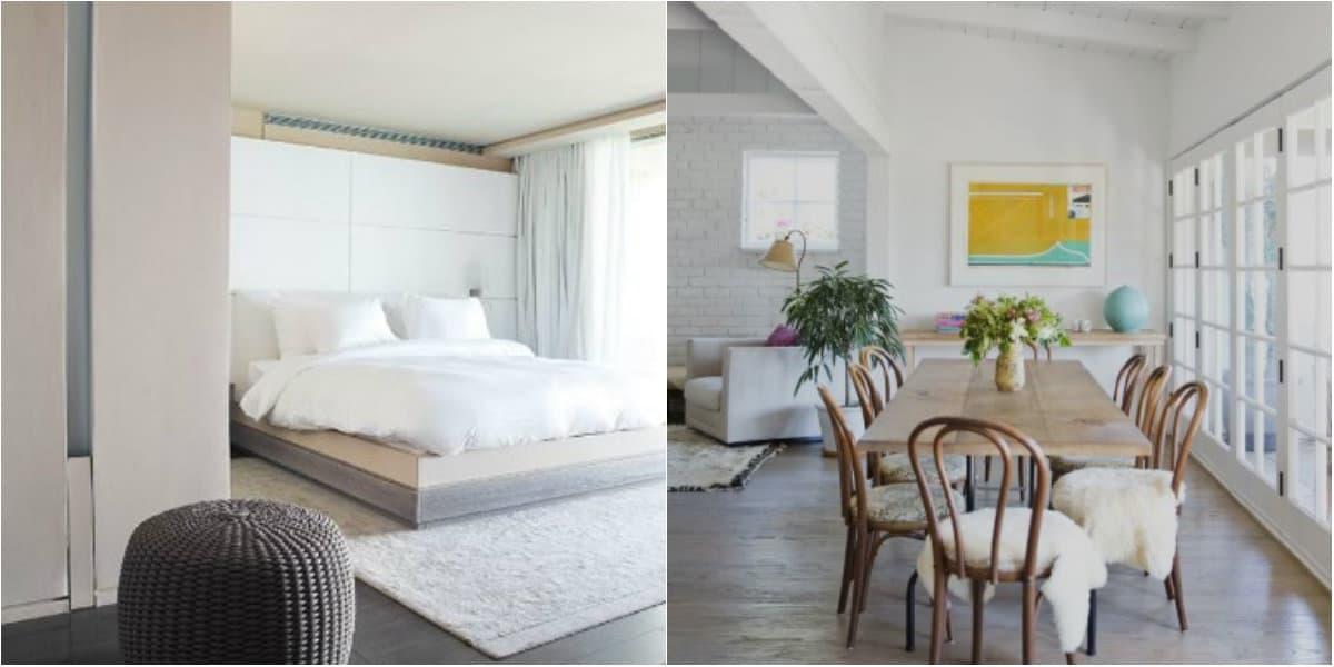 Стиль минимализм в интерьере: светлая гостиная