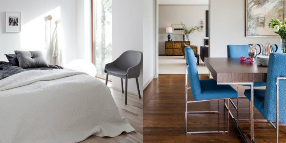 Стиль минимализм в интерьере: панорамные окна