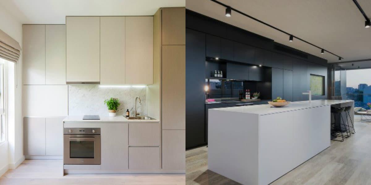 Стиль минимализм в интерьере: лаконичная кухня