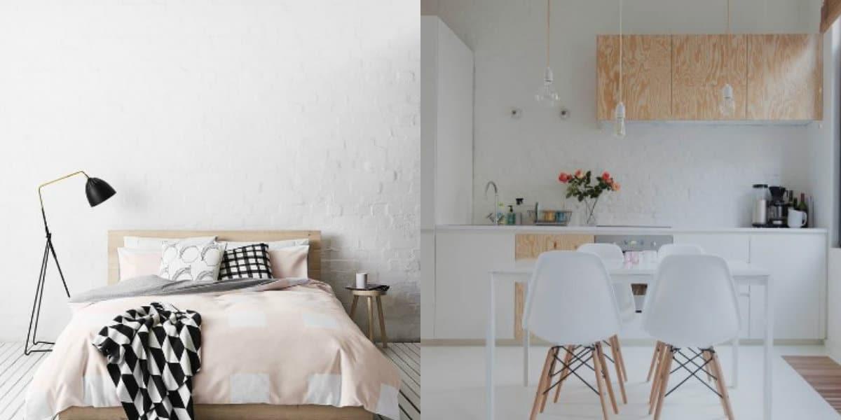 Стиль минимализм в интерьере: светлая гамма