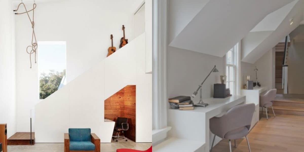 Стиль минимализм в интерьере: кабинет