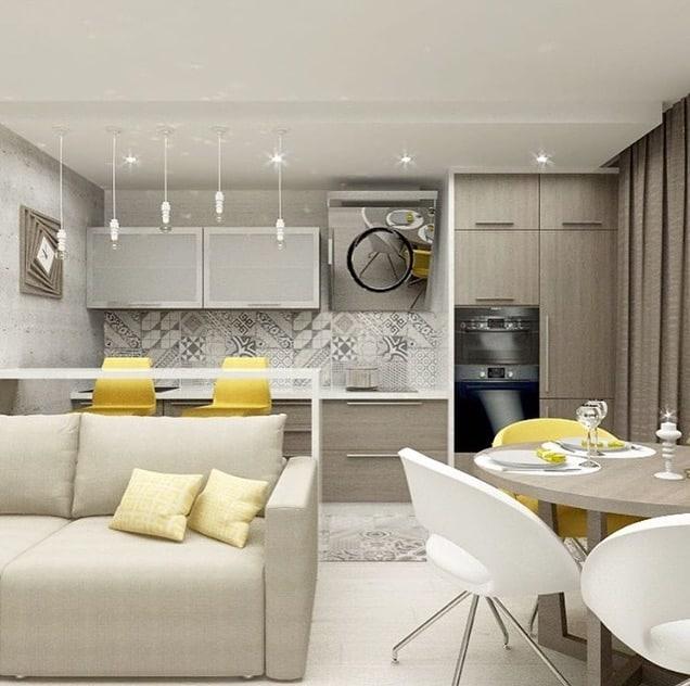 интерьер-кухни-в-стиле-модерн