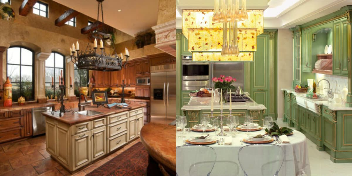 Кухня в итальянском стиле: декор