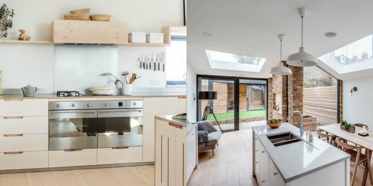 Кухня в скандинавском стиле: черты минимализма