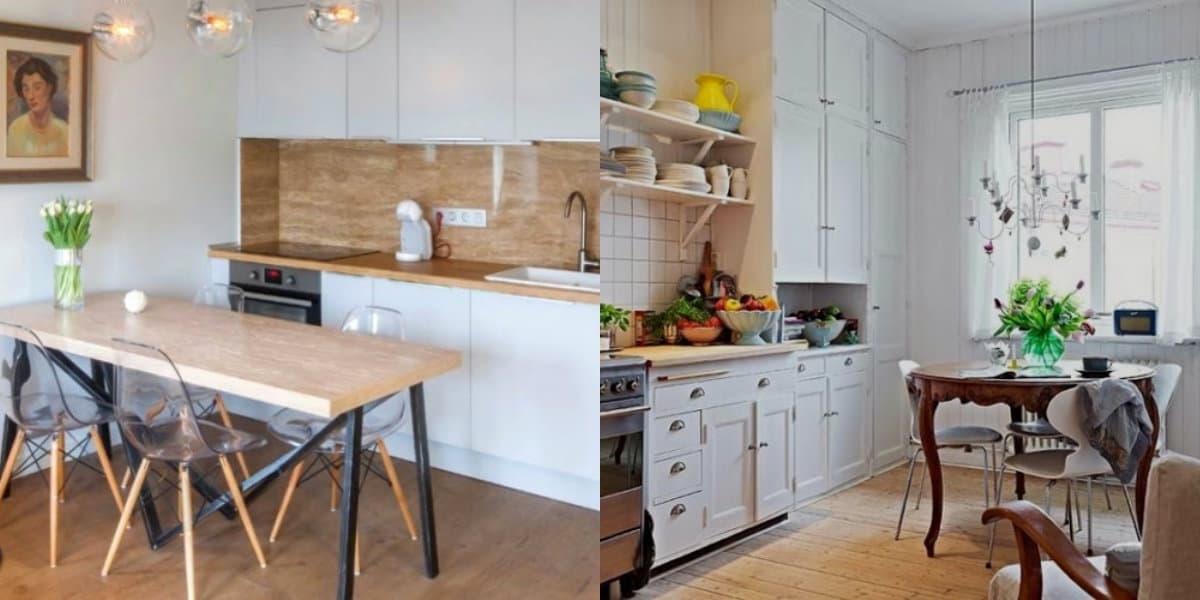 Кухня в скандинавском стиле: варианты фартука