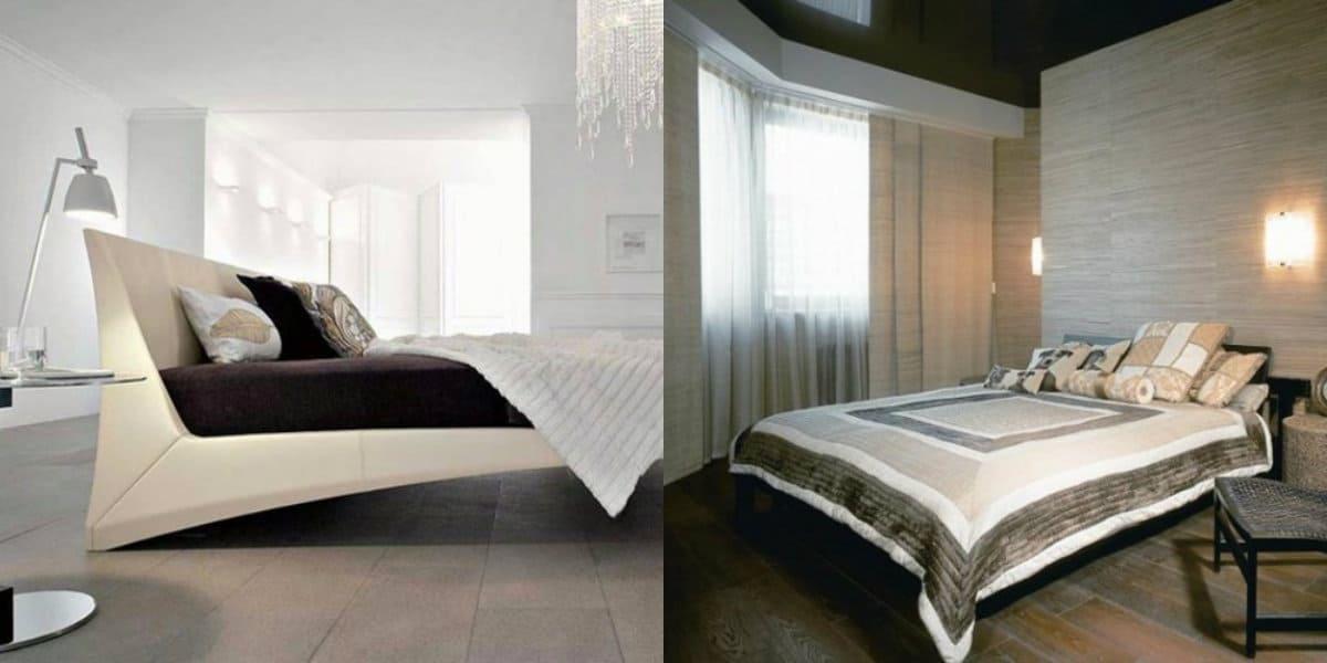 спальня в современном стиле: минимализм