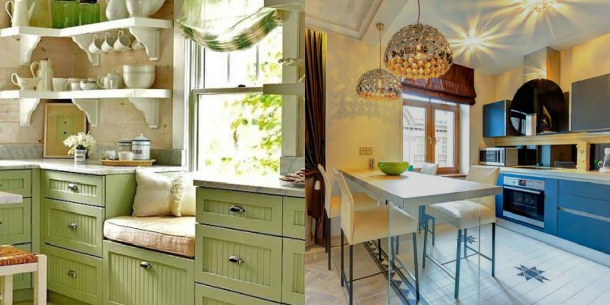 Цвета кухни 2018: цвет интерьера в разном стле