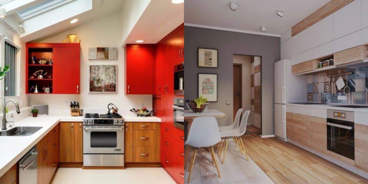Цвета кухни 2018: красный цвет в дизайне