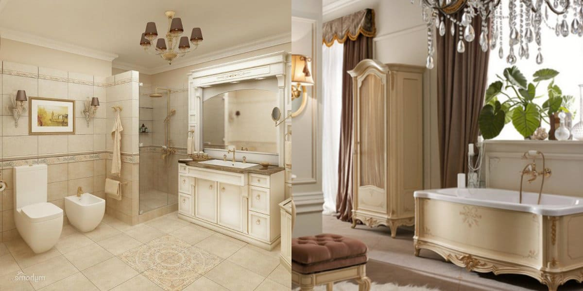 Ванная в итальянском стиле: цвет