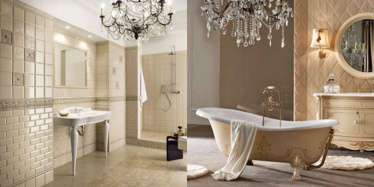 Ванная в итальянском стиле: отделка