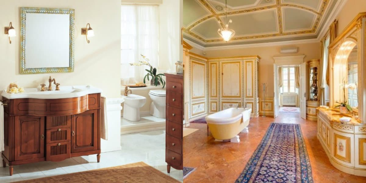 Ванная в итальянском стиле: мозаика