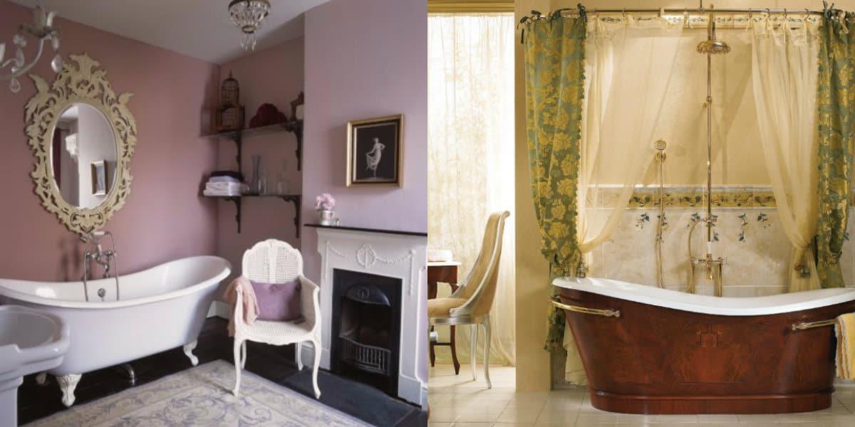 Ванная в итальянском стиле: ванна