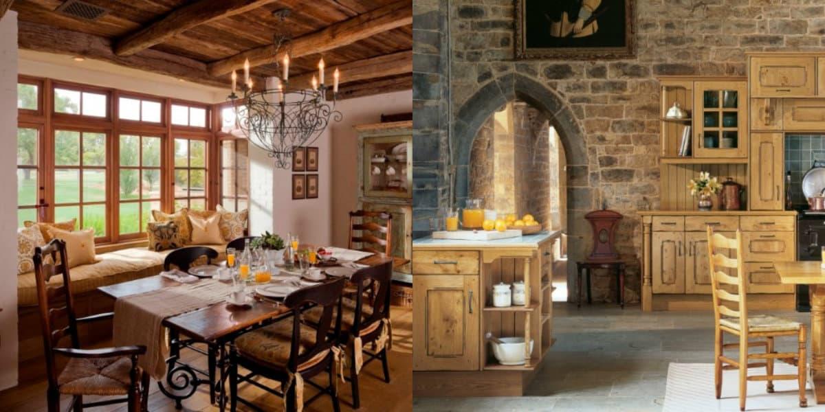 Гостиная в стиле Кантри: разные направления дизайна