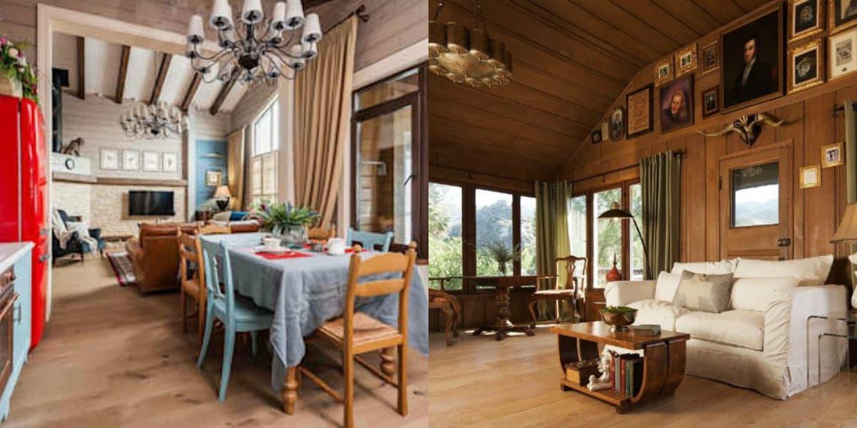 Гостиная в стиле Кантри: простой или статусный интерьер