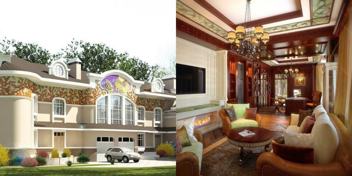 Дом в стиле Модерн: фасад