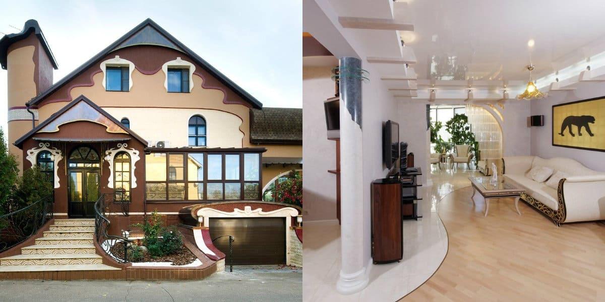 Дом в стиле Модерн: современная трактовка