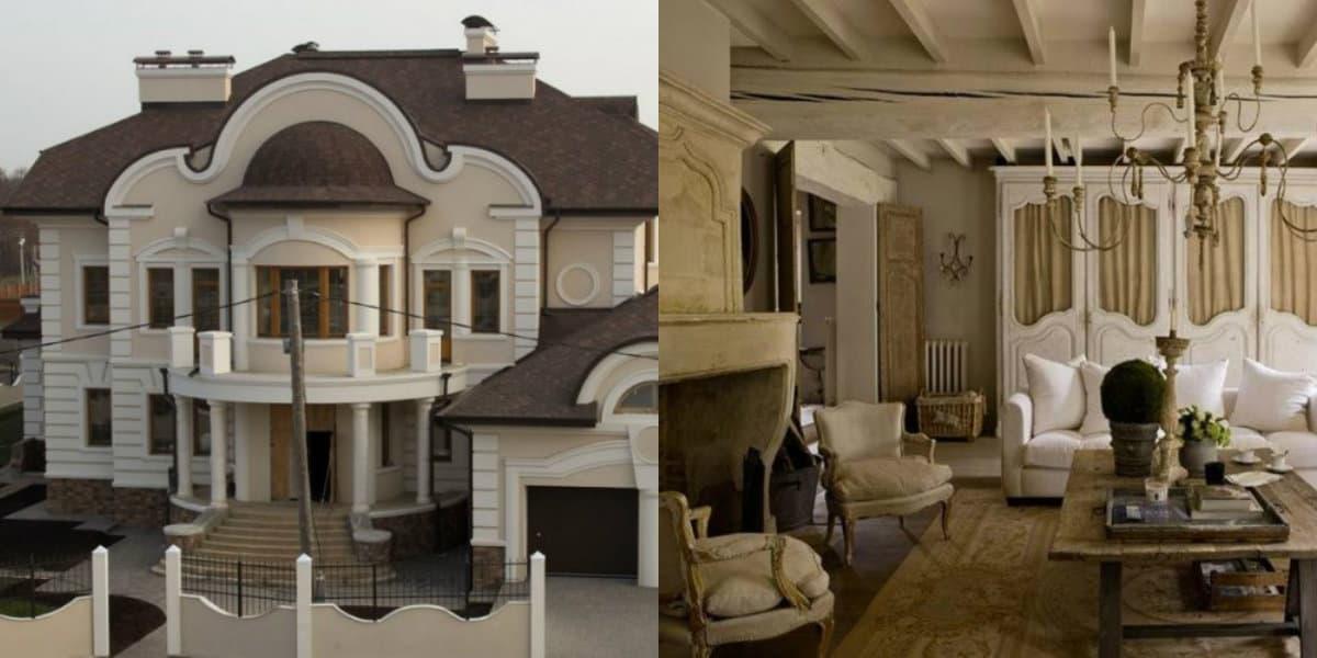 Дом в стиле Модерн: цветовая гамма