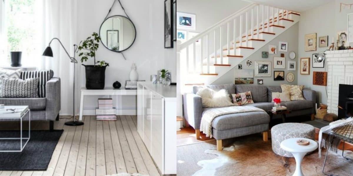 Интерьер в скандинавском стиле: деревянная отделка