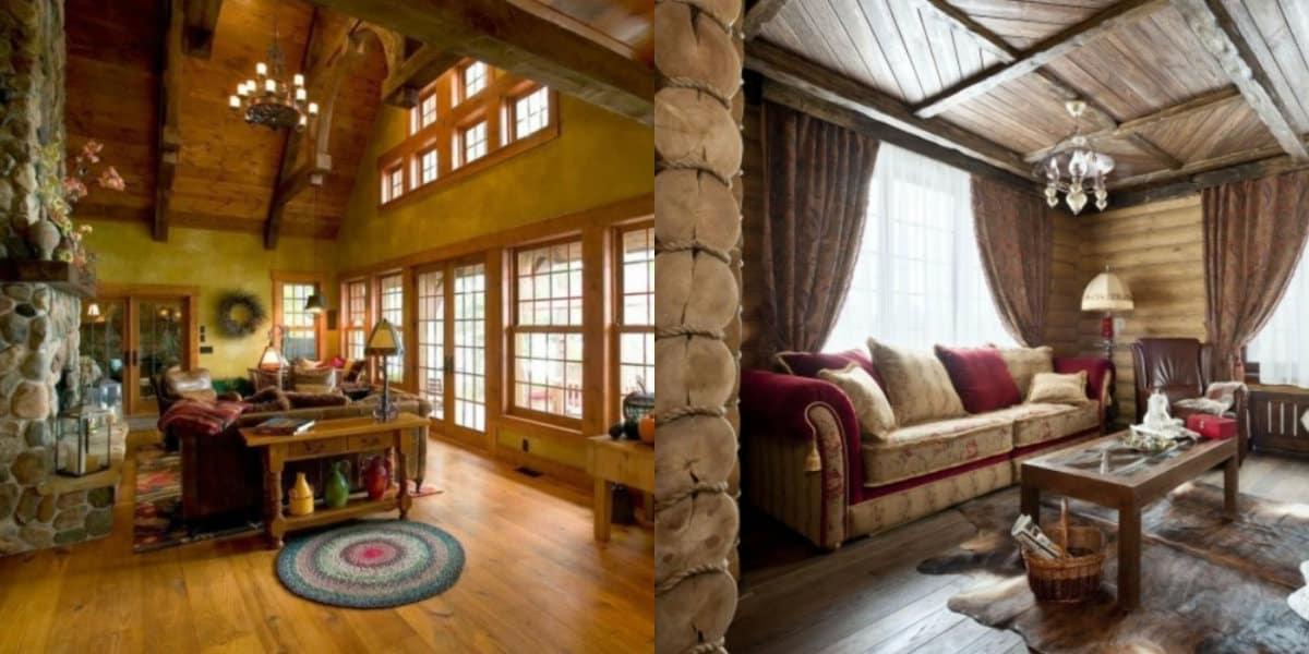 Интерьер деревенского дома: Кантри