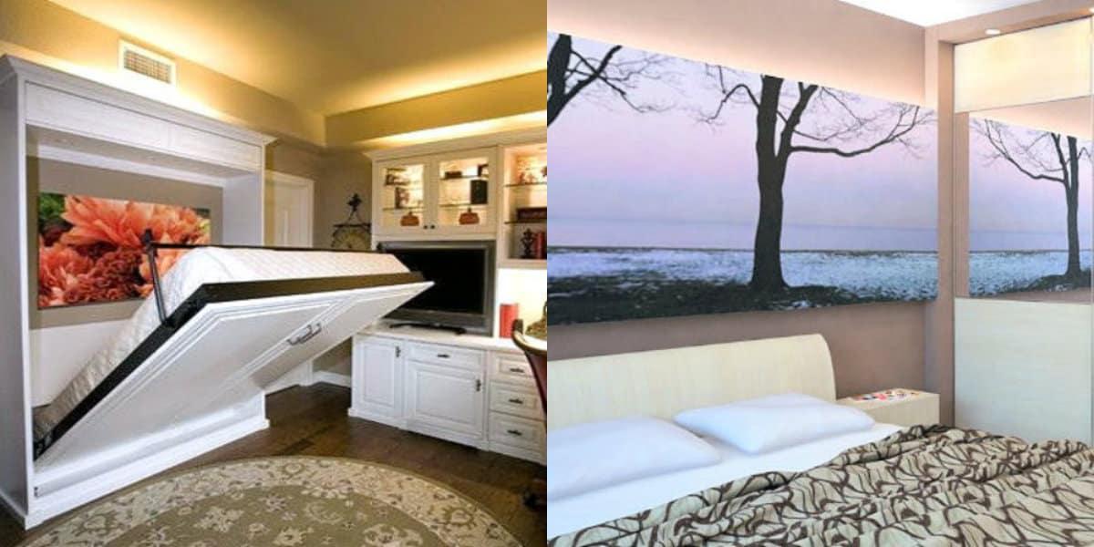 Интерьер маленькой комнаты: мебель трансформер