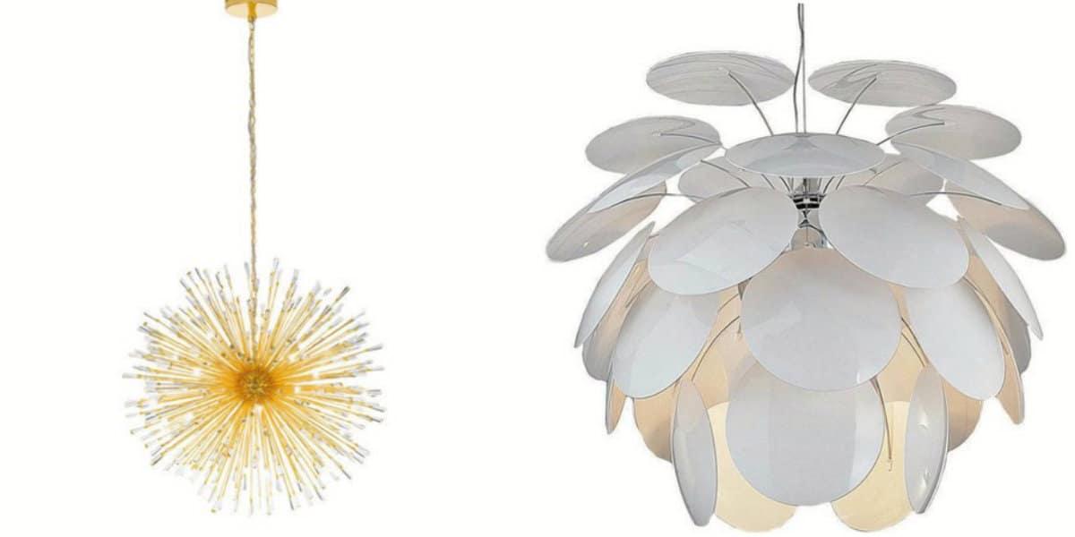 Люстры в скандинавском стиле: дизайнерские модели