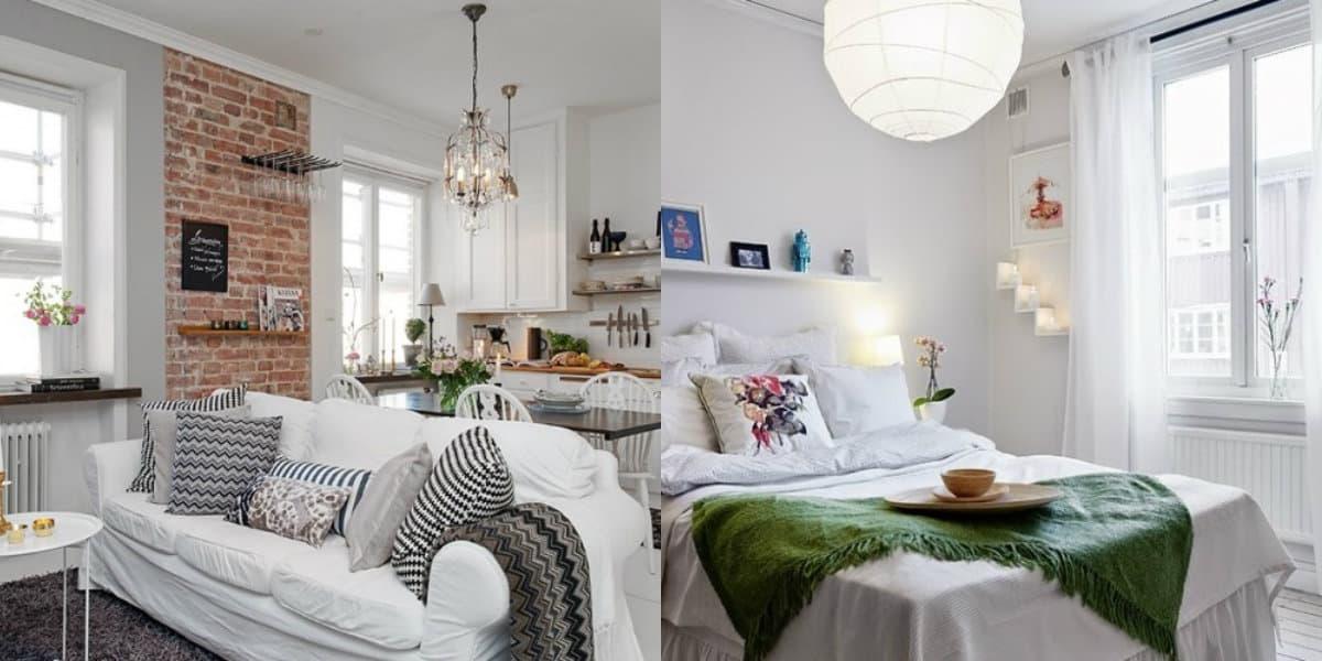Люстры в скандинавском стиле: шарообразные плафоны