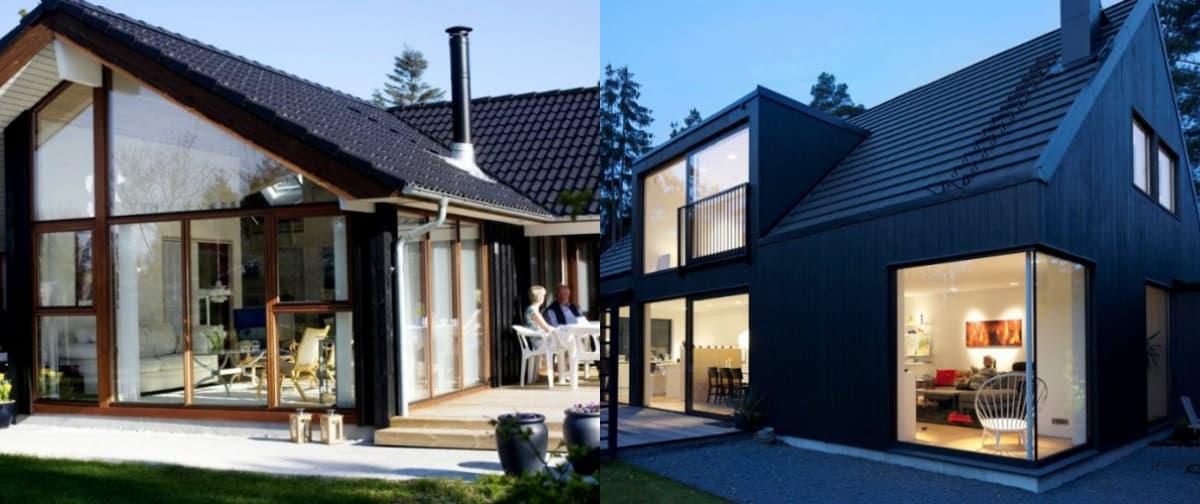 Скандинавский стиль дома: экстерьер