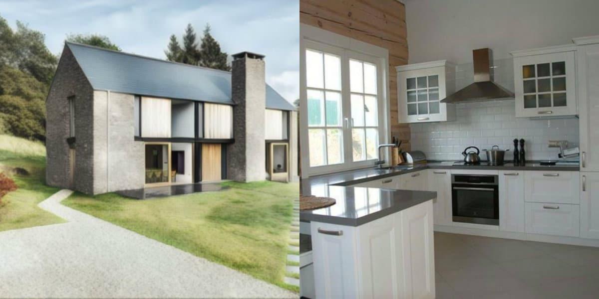 Скандинавский стиль дома: белый интерьер