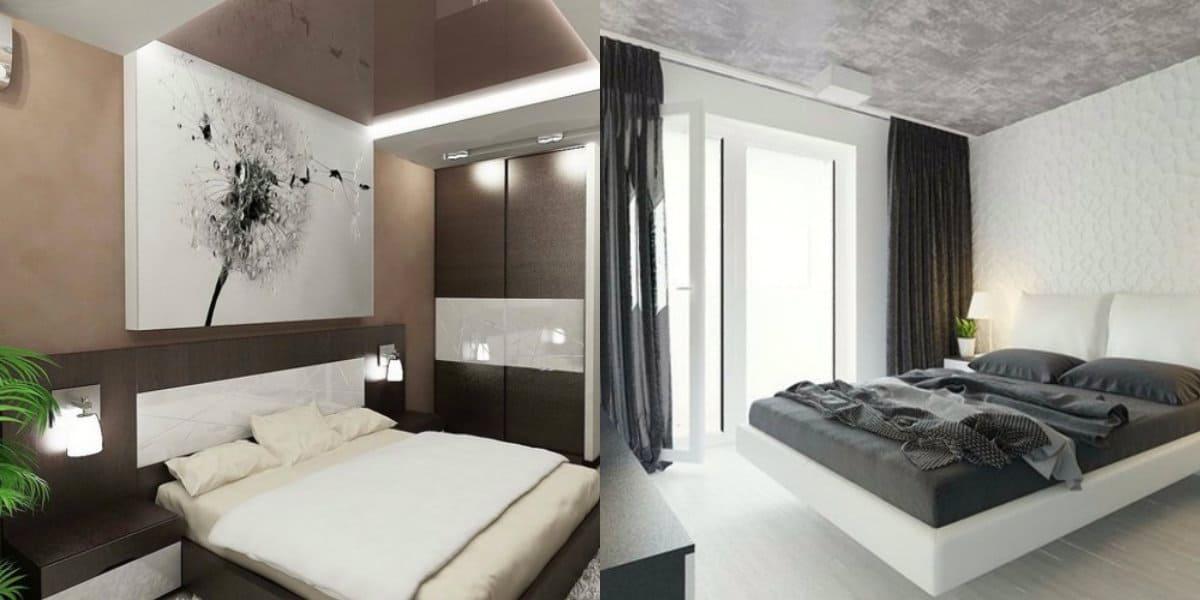 Современный дизайн спальни: декор