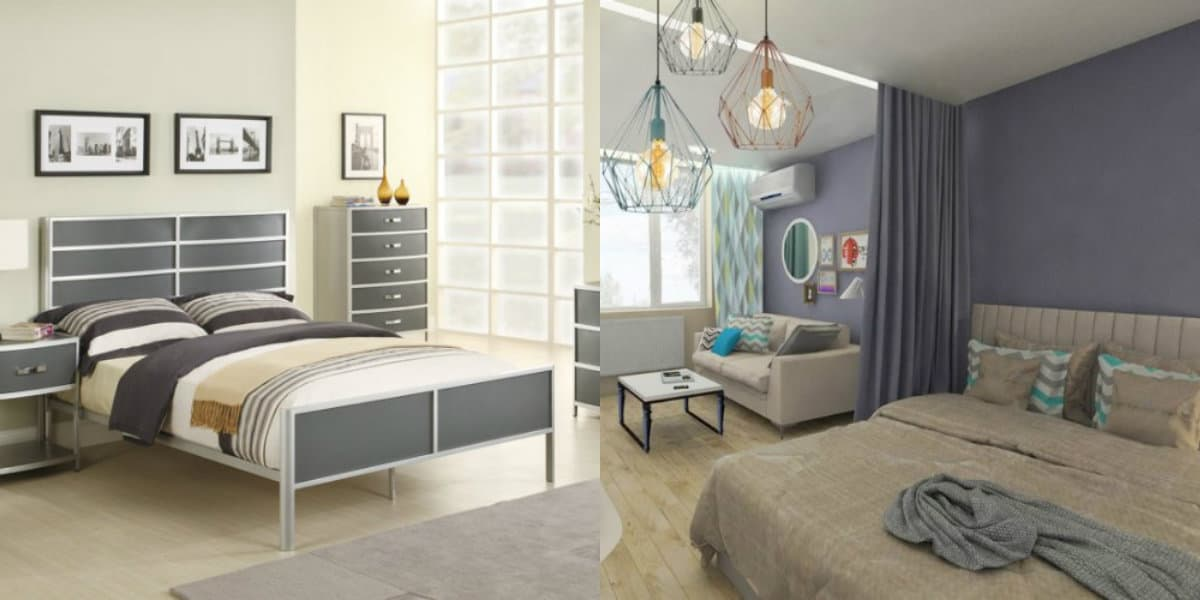 Современный дизайн спальни: минимализм