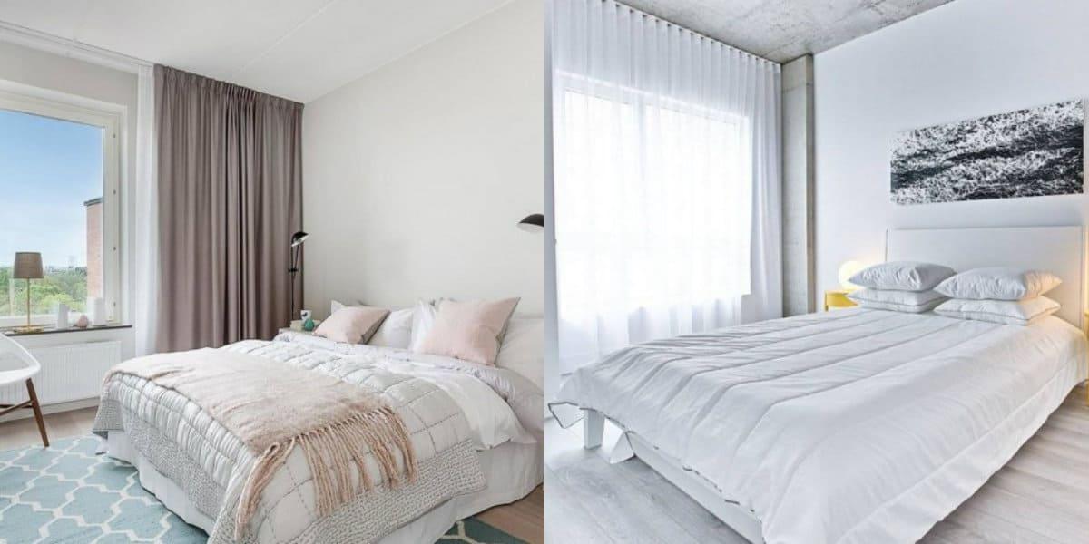Современный дизайн спальни: текстиль