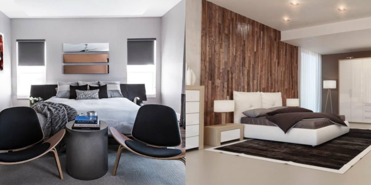 Современный дизайн спальни: отделка