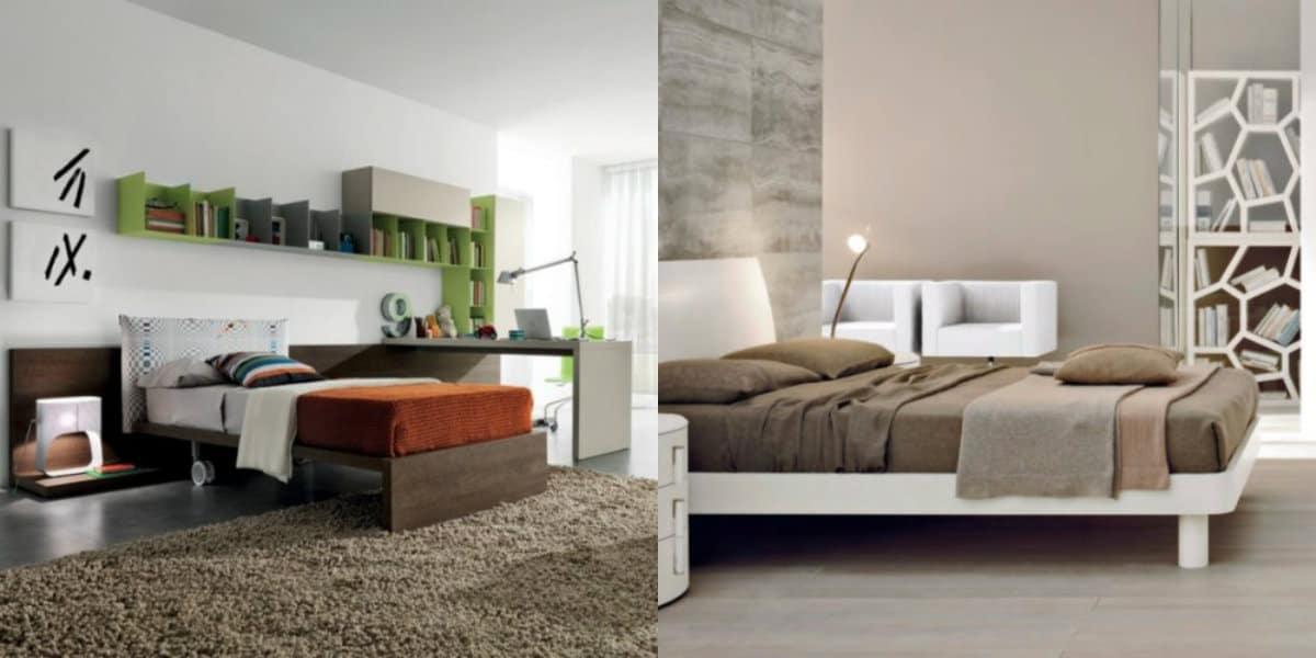 Современный дизайн спальни: функциональный декор