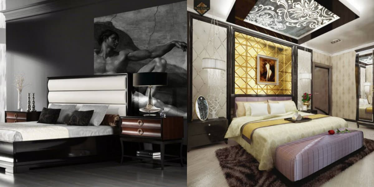Спальня в стиле Арт-деко 47 фото дизайн интерьера и особенности стиля