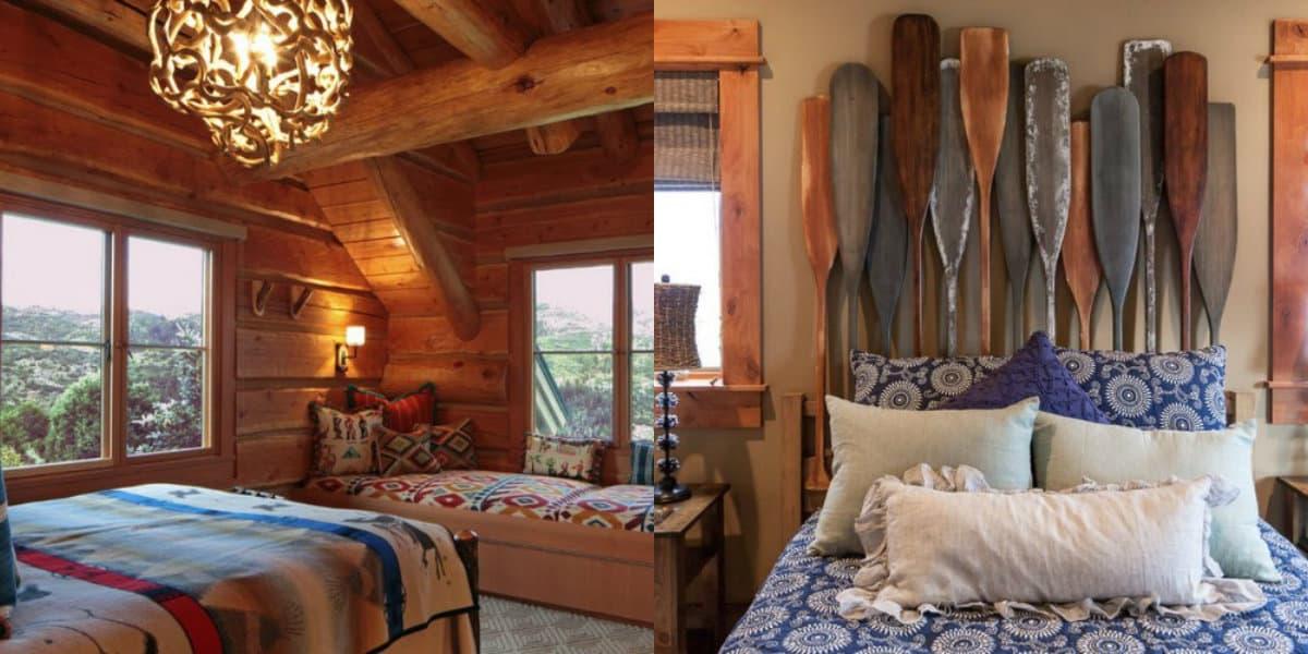 Спальня в стиле Кантри: необычный дизайн