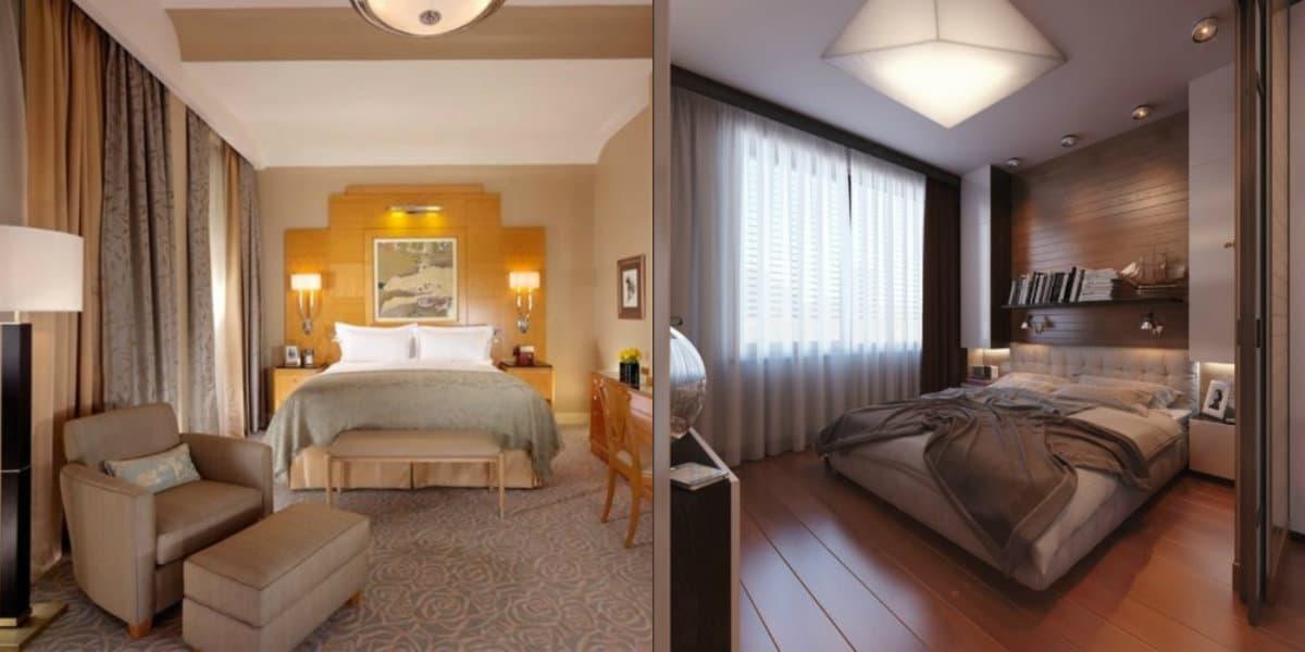 Спальня в стиле Модерн: светильники