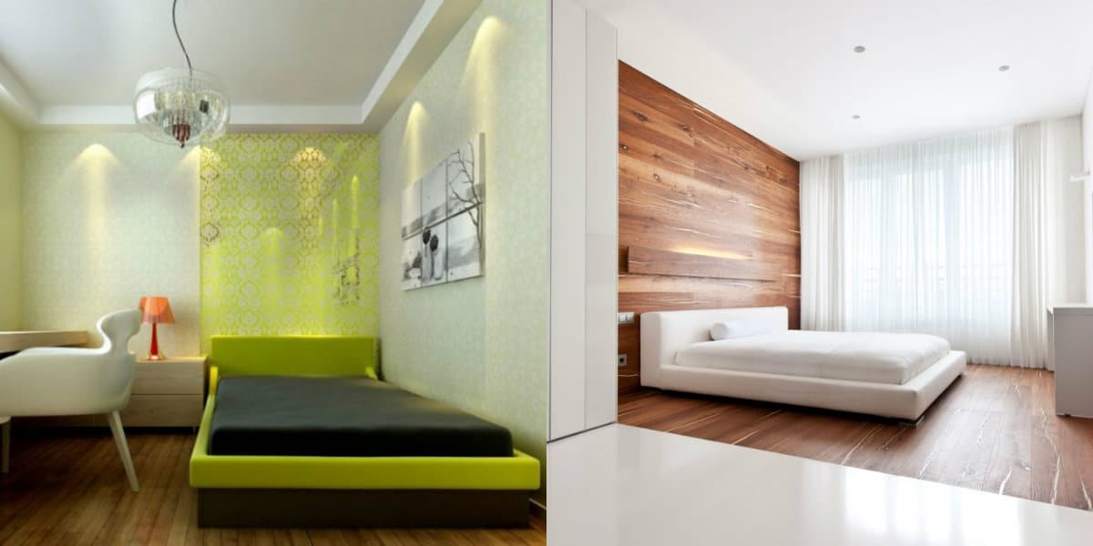 Спальня в стиле минимализм: цвет в интерьере