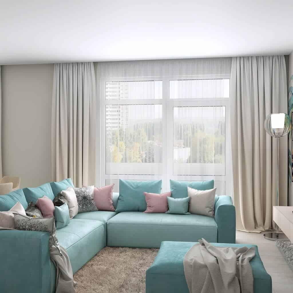 гостиные-в-стиле-минимализм-фото