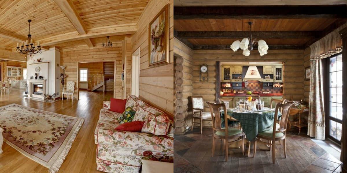 Дома в стиле Кантри: русский интерьер