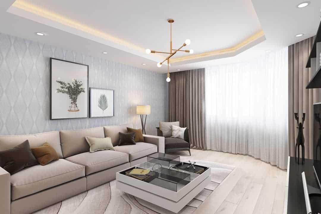 интерьеры-гостиных-в-стиле-минимализм